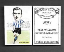 Sheffield Wednesday Rees Williams 44 (FC)
